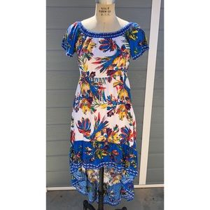 Flying tomato high low dress